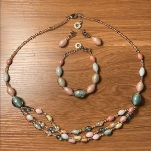Glass jewelry from Italy